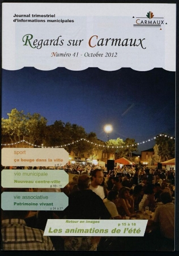 Regards sur Carmaux, n°41